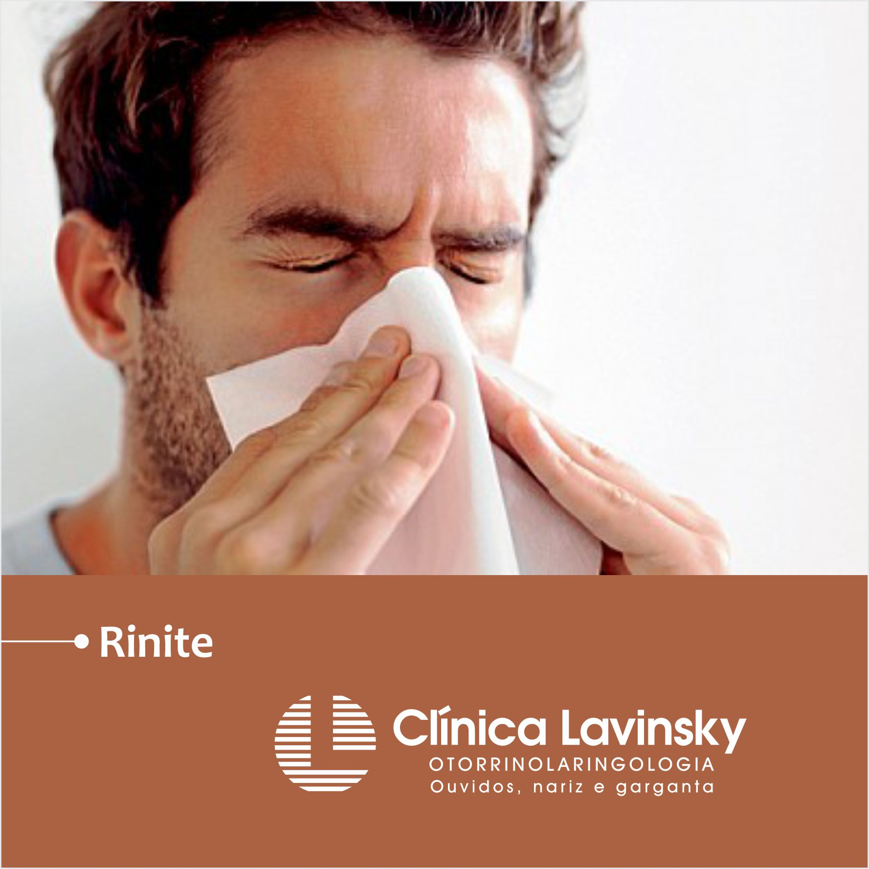 Você tem espirros, coriza, coceira e sensação de nariz congestionado?